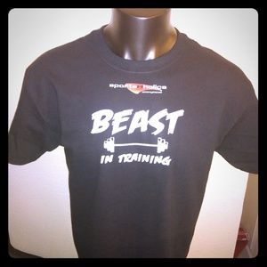 Beast in Training Athletic T-shir by Sportsaholics